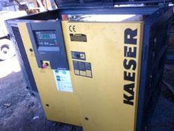 Máy nén khí cũ Kaeser