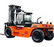 Xe nâng tải trọng lớn Doosan