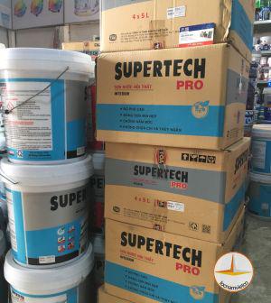 Sơn nước nội thất Toa Supertech Pro