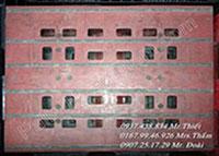 Pallet nhựa 900x1100x150mm