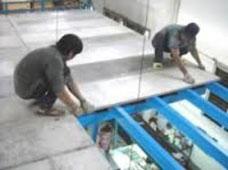 Sàn nhà ghé bằng tấm bê tông cốt sợi cemboard