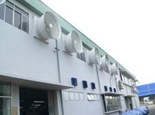 Hệ thống thông gió làm mát xưởng điện tử
