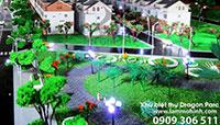 Mô hình khu biệt thự Dragon Parc