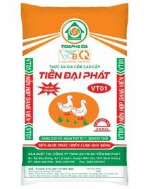 Thức ăn cho Vịt - Ngan VT01