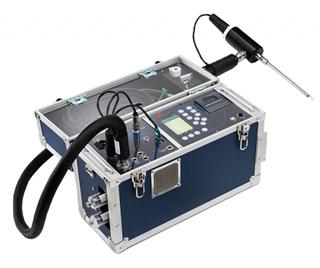 Máy phân tích khí thải di động
