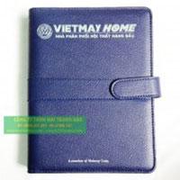 Sổ tay bìa da Vietmay Home