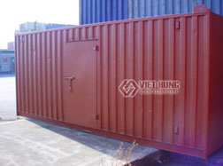 Container chuyên dụng cửa mở bên