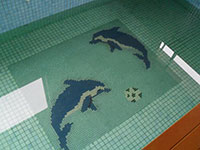 Bể bơi gia đình anh Triều Phú Xuyên