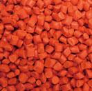 Hạt nhựa màu cam