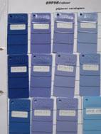Thẻ màu quạt công nghiệp