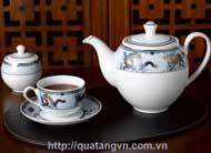 ấm trà Minh Long Camellia