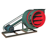 Boiler Centrifugal Induced Draught Fan