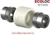 Khớp nối răng vỏ nhựa Ecoloc ECT