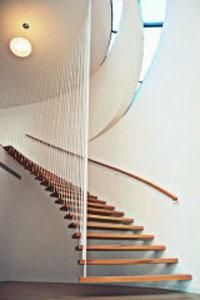 Cầu thang cáp
