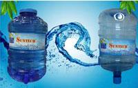 Nước tinh khiết đóng bình