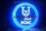 Thi công logo đại học Luật
