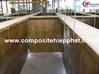 Bọc phủ composite bể bê tông