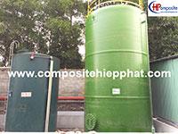 Bồn composite 70m3 chứa DMF