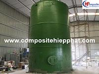 Bồn nhựa FRP 70m3 chứa DMF