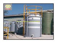 Bồn Composite FRP chứa hóa chất NaOH