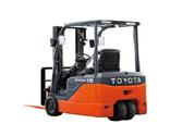 Xe nâng điện Toyota 3 bánh