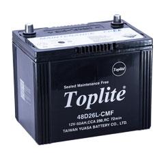 Ắc quy ô tô ngoại nhập Toplite 48D26L