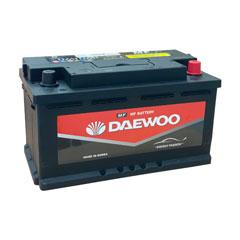 Ắc quy ô tô ngoại nhập Daewoo DIN58014