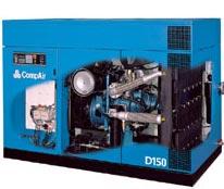 Máy nén khí trục vít không dầu Compair D Series