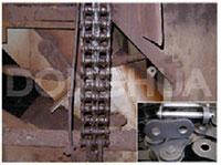 Xích dùng trong nhà máy thép
