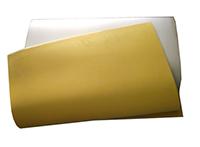 Tấm cao su vàng
