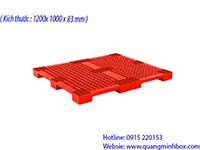 Pallet nhựa 1200x1000x83mm