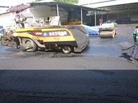 Thảm bê tông nhựa nóng khu nhà xưởng