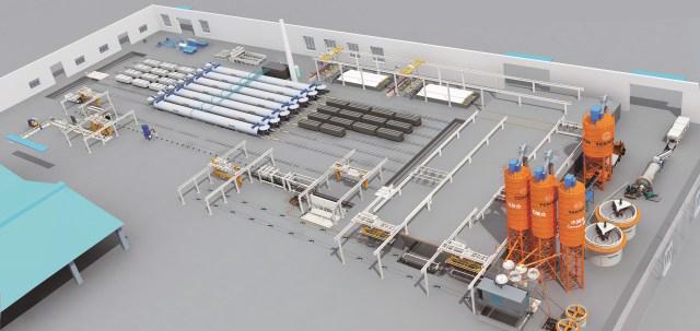 Dây chuyền sản xuất gạch khí chưng áp AAC