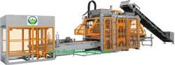 Máy gạch thủy lực rung bàn