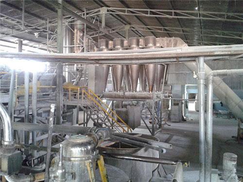 Dây chuyền chế biến tinh bột