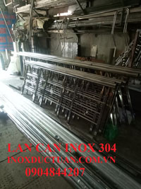 Lan can cầu thang inox