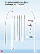 ống dẫn lưu qua da