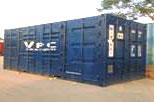 Container mở cửa vách