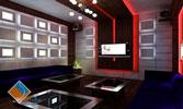 Thiết kế nội thất phòng thu âm