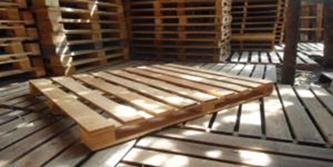 Pallet gỗ 2 hướng nâng