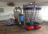 Lắp đặt hệ thống xử lí nước thải
