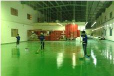 Thi công sơn sàn công nghiệp