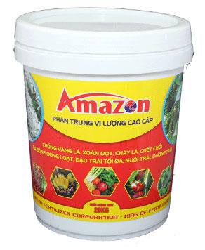 Phân bón trung vi lượng Amazon