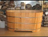 Bồn tắm thuốc gỗ