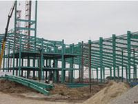 Kết cấu thép nhà máy