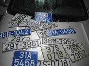 Xác minh biển số xe
