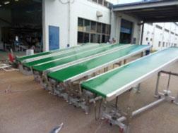 Khung băng tải PVC linh kiện điện tử