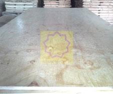 Glue film plywood