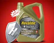Havoline Fully Synthetic cho xe máy