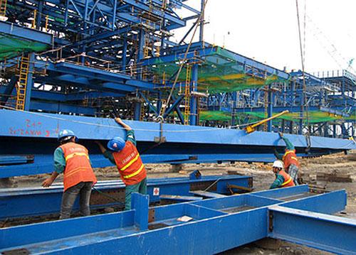 Gia công kết cấu thép ngành điện lực